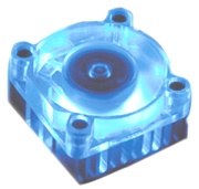 akasa ak 210 chipset cooler with 4cm blue led fans photo