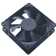 akasa ak 181bk s black case fan 80mm ultra quiet sleeve bearing photo