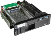 akasa ak ien 01 lokstor m51 25 35 hdd combo rack 525 black photo