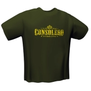 gamerswear t shirt consolero olive l photo