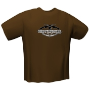 gamerswear t shirt shootingstar brown l photo