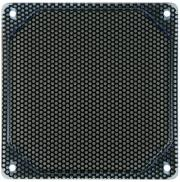 bitspower alumino mesh fan grill 120mm uv blue black photo