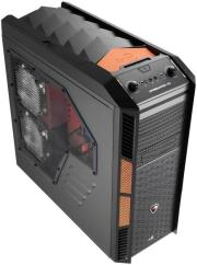 case aerocool xpredator x3 black orange photo