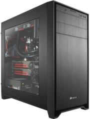 case corsair obsidian series 350d black windowed photo