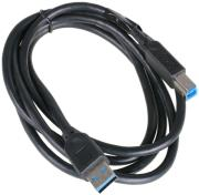 akasa ak cbub01 15bk usb30 type a to b cable 15m black photo