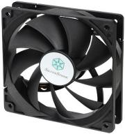 silverstone fn121 p120mm fan black photo