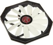 raijintek aeolus alpha fan 140mm black white photo