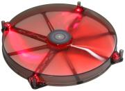 aerocool lightning led fan 200mm red photo