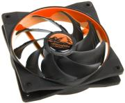 alpenfoehn wing boost 2 plus 120mm pwm fan orange photo