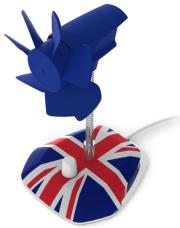ARCTIC BREEZE UNITED KINGDOM EDITION USB FAN gadgets   παιχνίδια   γραφείου