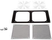lian li d8000 2b mounting frame for 140mm fan black photo