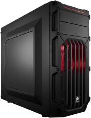 case corsair carbide series spec 03 mid tower red led photo