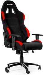 akracing gaming chair black red photo