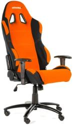 akracing prime gaming chair orange black photo