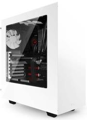 case nzxt source 340 midi tower white window photo