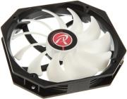 raijintek boreas alpha fan black white 140mm photo
