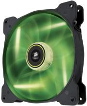 corsair air series sp140 led green high static pressure 140mm fan single pack photo