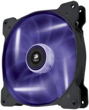 corsair air series sp140 led purple high static pressure 140mm fan single pack photo