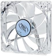 deepcool xfan 120 l y 120mm transparent fan with yellow led photo