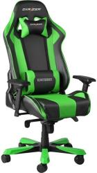 dxracer king gaming chair black green photo