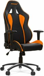 akracing nitro gaming chair black orange photo