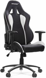 akracing nitro gaming chair black white photo