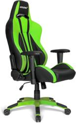 akracing premium plus gaming chair green photo