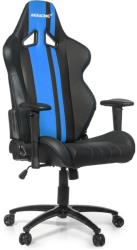 akracing rush gaming chair black blue photo