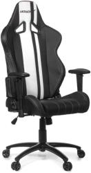 akracing rush gaming chair black white photo