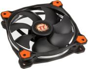 thermaltake riing 12 120mm led fan orange photo