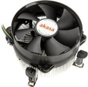 akasa ak cce 7104ep cpu cooler with plain bearing for 775 115x 92m photo