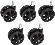 akracing 5er set replacement wheel black photo
