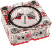 primochill vortex clear pmma flow indicator clear red photo