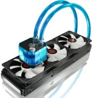 raijintek triton complete watercooling 360mm blue photo