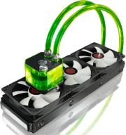 raijintek triton complete watercooling 360mm green photo