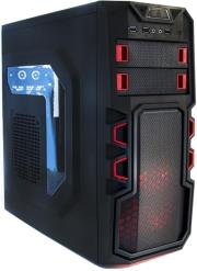 case supercase 250 usb 30 black red window photo