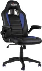 nitro concepts c80 motion gaming chair black blue photo