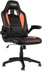 nitro concepts c80 motion gaming chair black orange photo