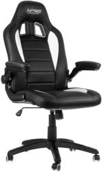 nitro concepts c80 motion gaming chair black white photo