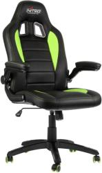 nitro concepts c80 motion gaming chair black green photo