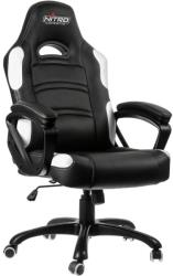 nitro concepts c80 comfort gaming chair black white photo