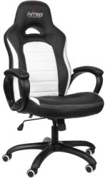 nitro concepts c80 pure gaming chair black white photo