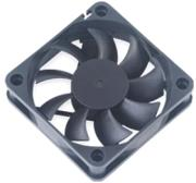 akasa dfc601512m 60mm case fan with 3 pin connector 12v ball bearing medium speed photo