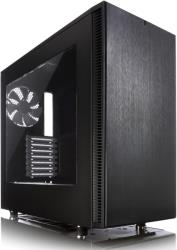 case fractal design define s black window photo
