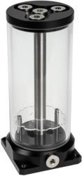 aqua computer aqualis base for pump adaptor 450ml with water column effect nano coating photo