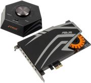 sound card asus strix raid pro 71 pcie set with audiophile grade dac 116db snr photo