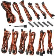 bitfenix alchemy 20 psu cable kit bqt series dpp black orange photo