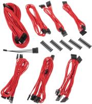 bitfenix alchemy 20 psu cable kit bqt series sp10 red photo