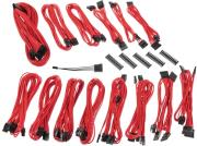 bitfenix alchemy 20 psu cable kit cmr series red photo