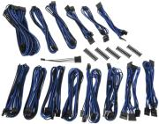 bitfenix alchemy 20 psu cable kit cmr series black blue photo